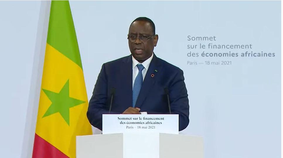 Sommet sur le financement des économies africaines: l'APR soutient le plaidoyer du Pr Sall, pour de nouvelles allocations de DTS et la production de vaccins par l'Afrique
