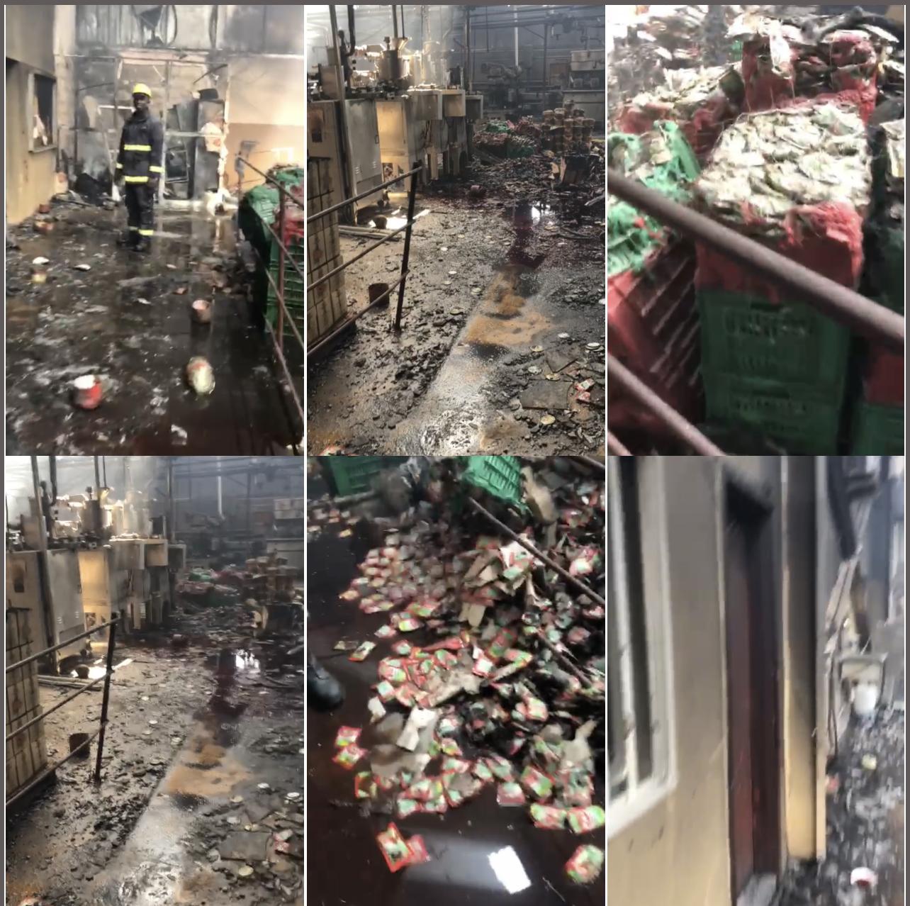 Incendie à la Zone franche industrielle de Mbao : Takamol Food de Cheikh Ahmed Tidiane Sy al Amine réduit en cendres....