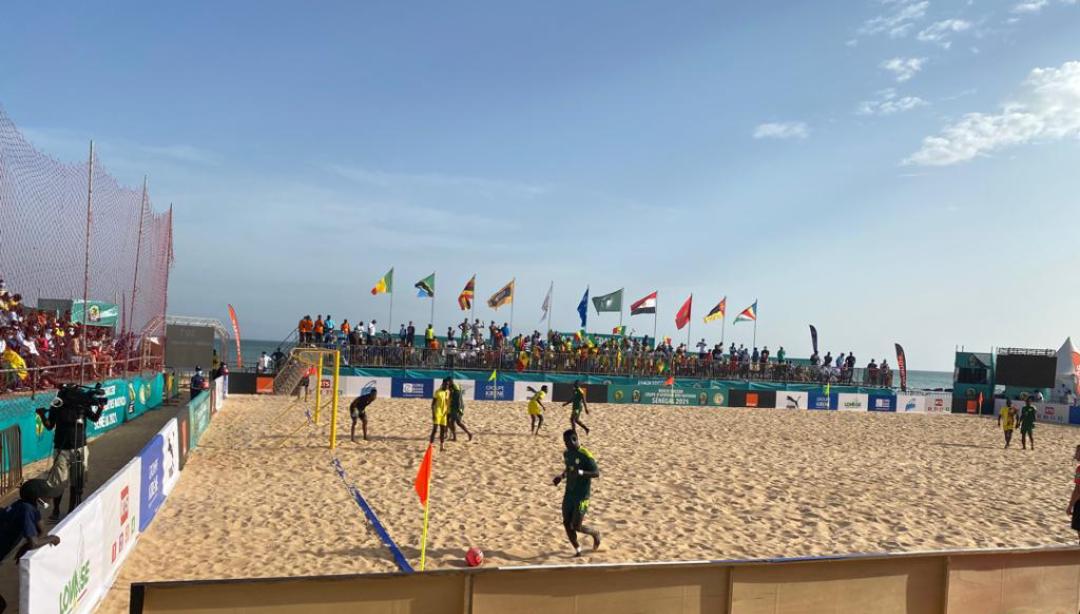 CAN Beach Soccer : Le Sénégal bat l'Ouganda d'entrée 5-1 !