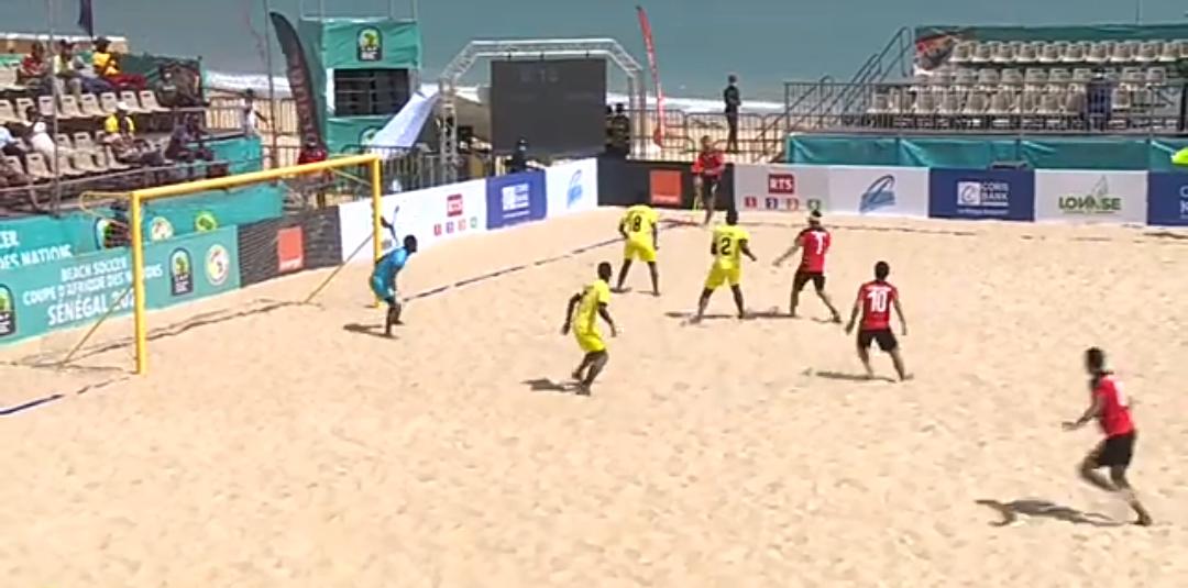 Match d'ouverture CAN Beach : le Mozambique surprend l'un des favoris, l'Égypte battu 7-5 !
