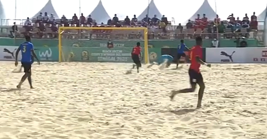 Can Beach soccer 2021 : L'Ouganda se relance contre la Tanzanie (4-3) et se positionne pour les demi-finales.