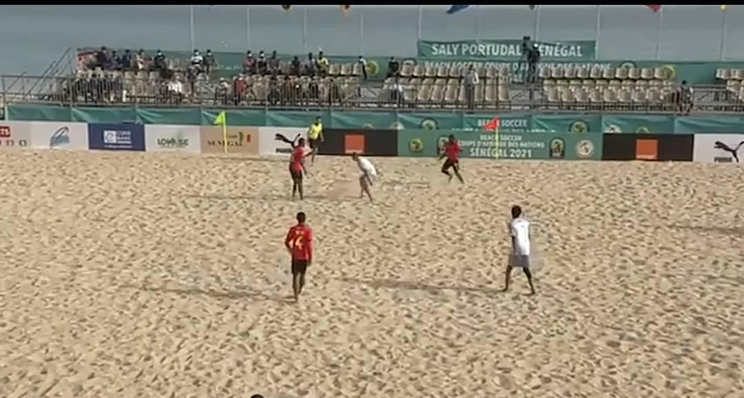 CAN Beach Soccer : Le Mozambique en demi-finale suite à sa victoire 7-3 sur les Seychelles