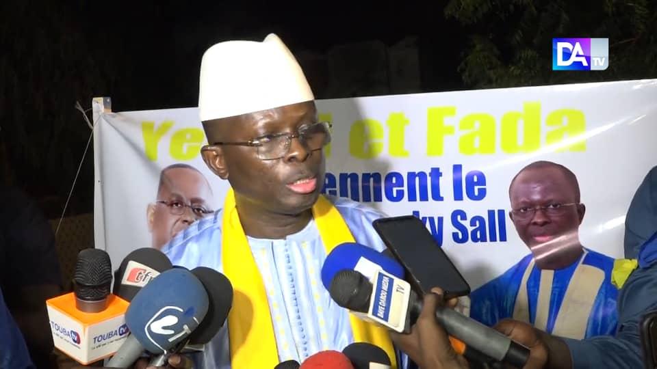 Modou Diagne en meeting à Darou Moukhty : « ce que l'opposition fait ne nous intéresse pas... Nous gagnerons ici à plus de 90% »