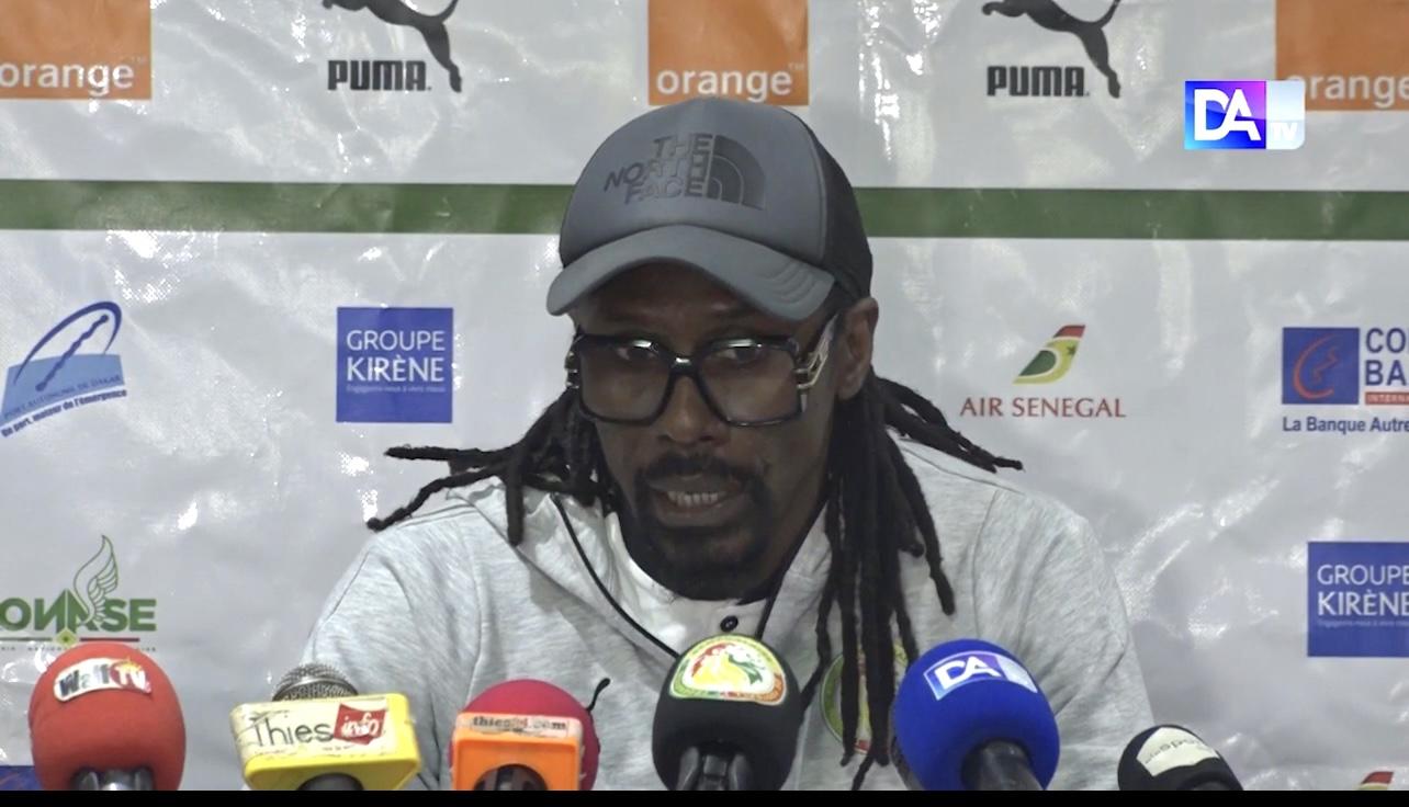 En fin de contrat dans quelques mois, Aliou Cissé déclare : «Après 6 ans à la tête de la sélection, on est vers la sortie»