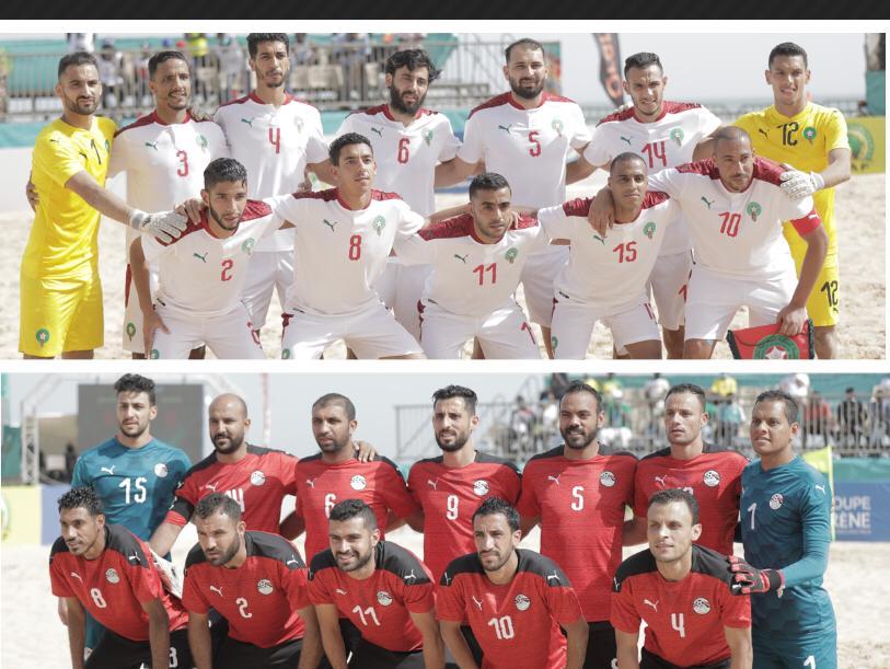 CAN Beach Soccer 2021 : Le Maroc élimine l'Égypte aux portes des demi-finales (4-3).