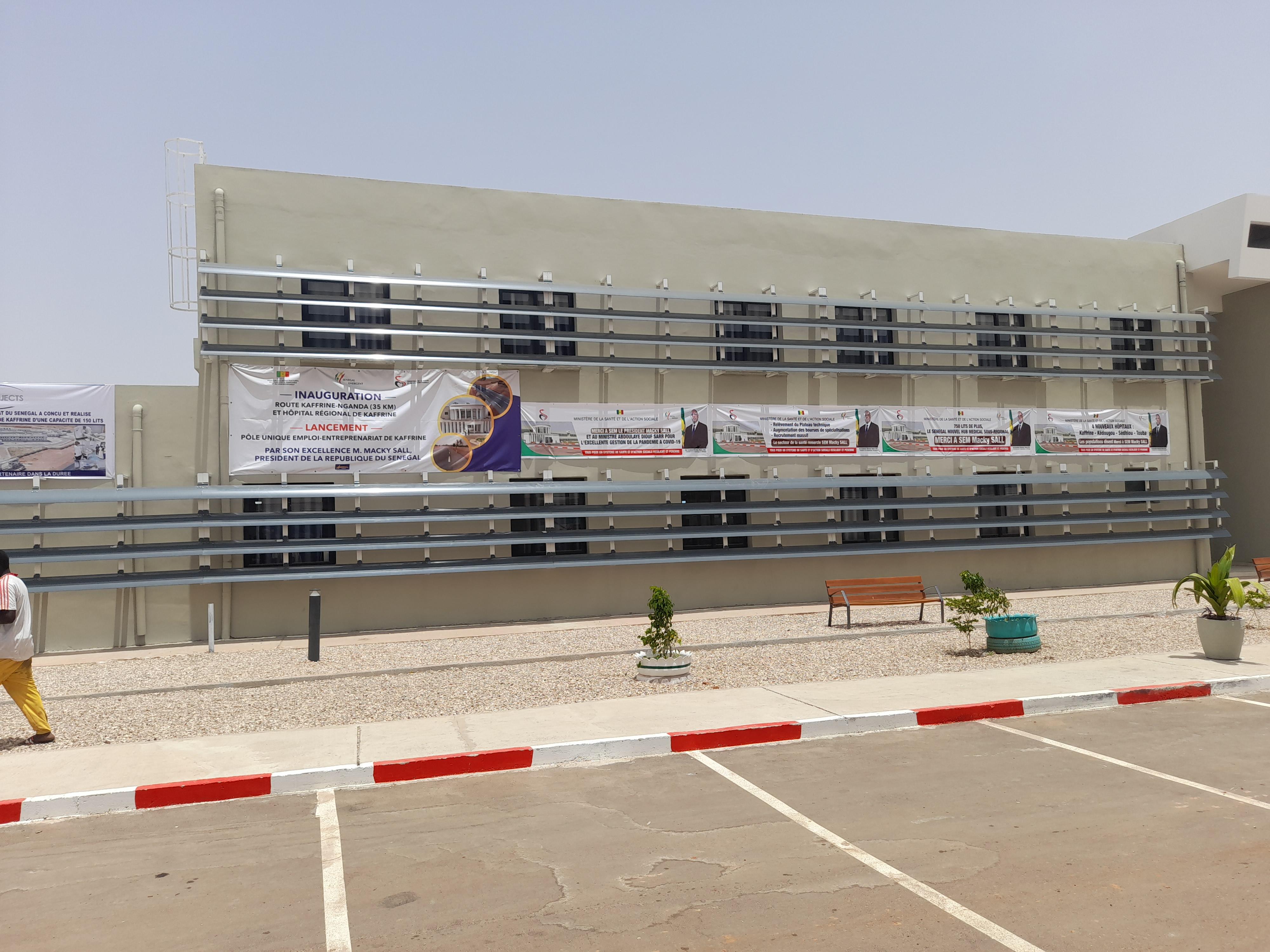 Inauguration de l'hôpital régional de Kaffrine: Tout est fin prêt... (Images)