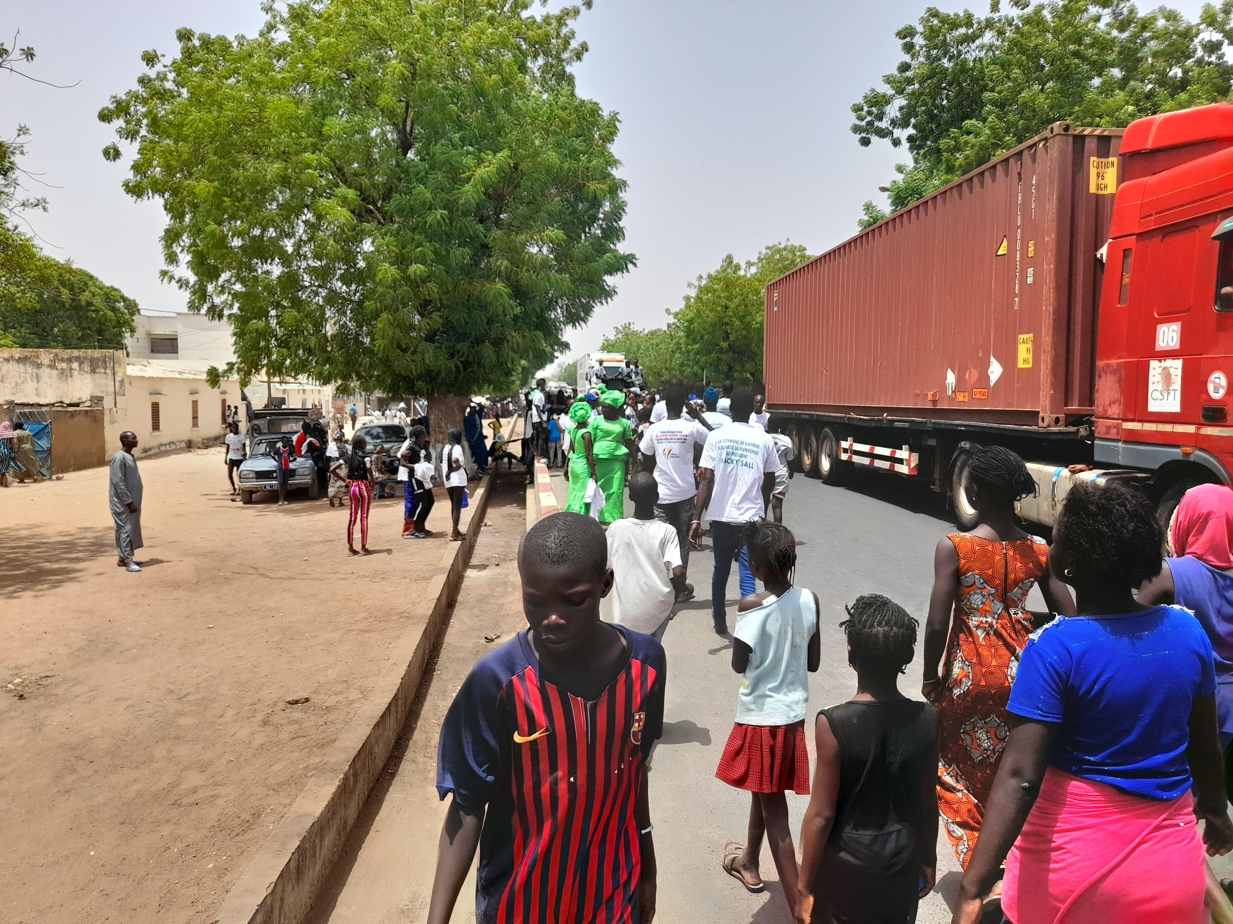 Tournée dans le Saloum : Kaffrine se mobilise pour accueillir le président Macky Sall. (IMAGES)