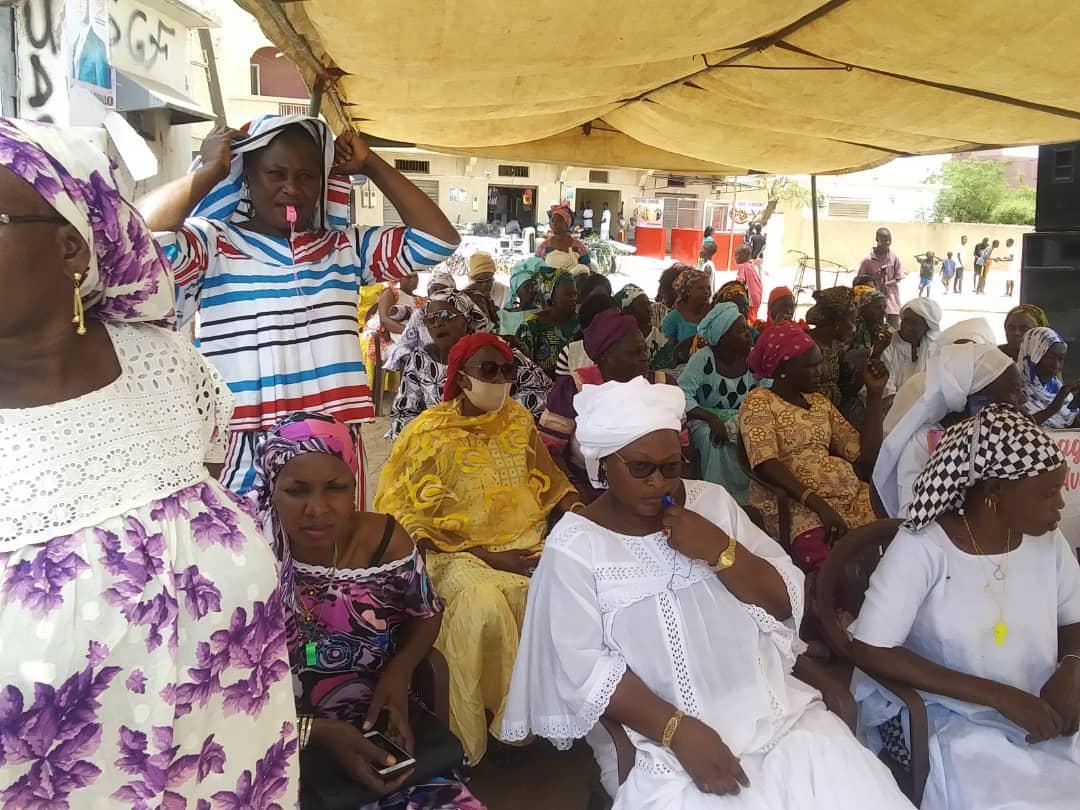 Kaolack : Adji Mergane Kanouté mobilise pour accueillir le président Macky Sall.