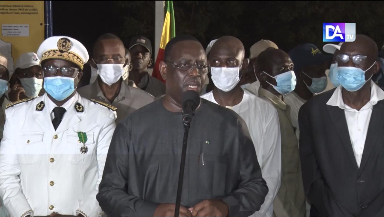 Route Nganda-Diamagadio : Le président Macky Sall instruit le ministre Mansour Faye et l'Ageroute pour l'activation du projet de réalisation.