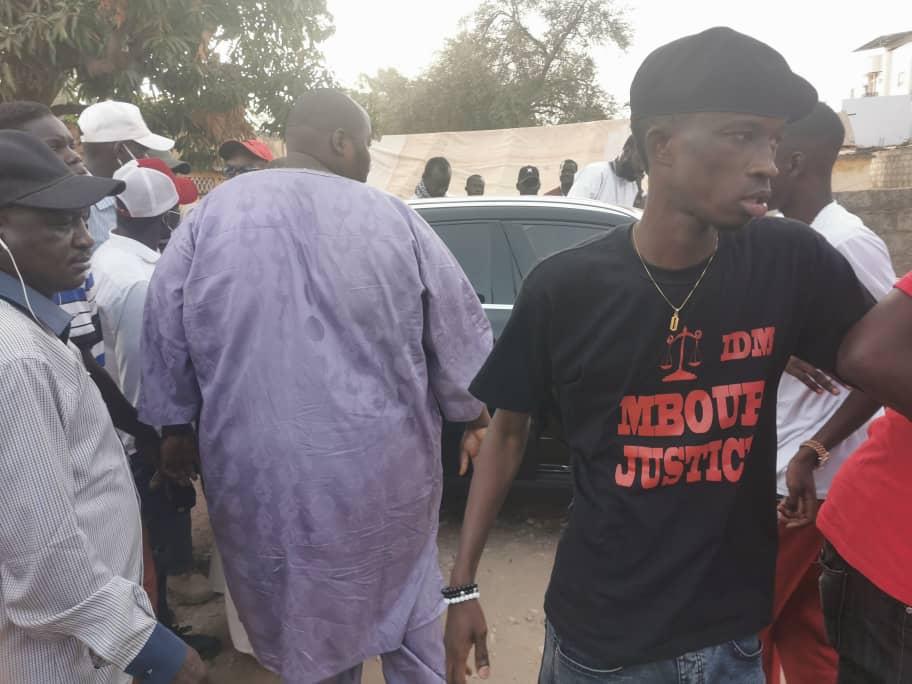 """Affaire 18 ha à Nianing : Houleux échanges verbaux entre des activistes venus de Dakar et """"Mbour Justice"""""""