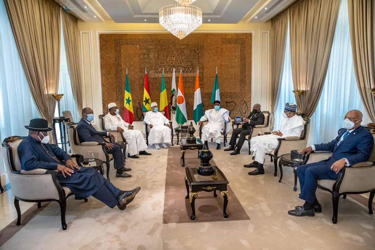 Conclusions du Sommet extraordinaire sur la transition au Mali : Les recommandations de la CEDEAO.