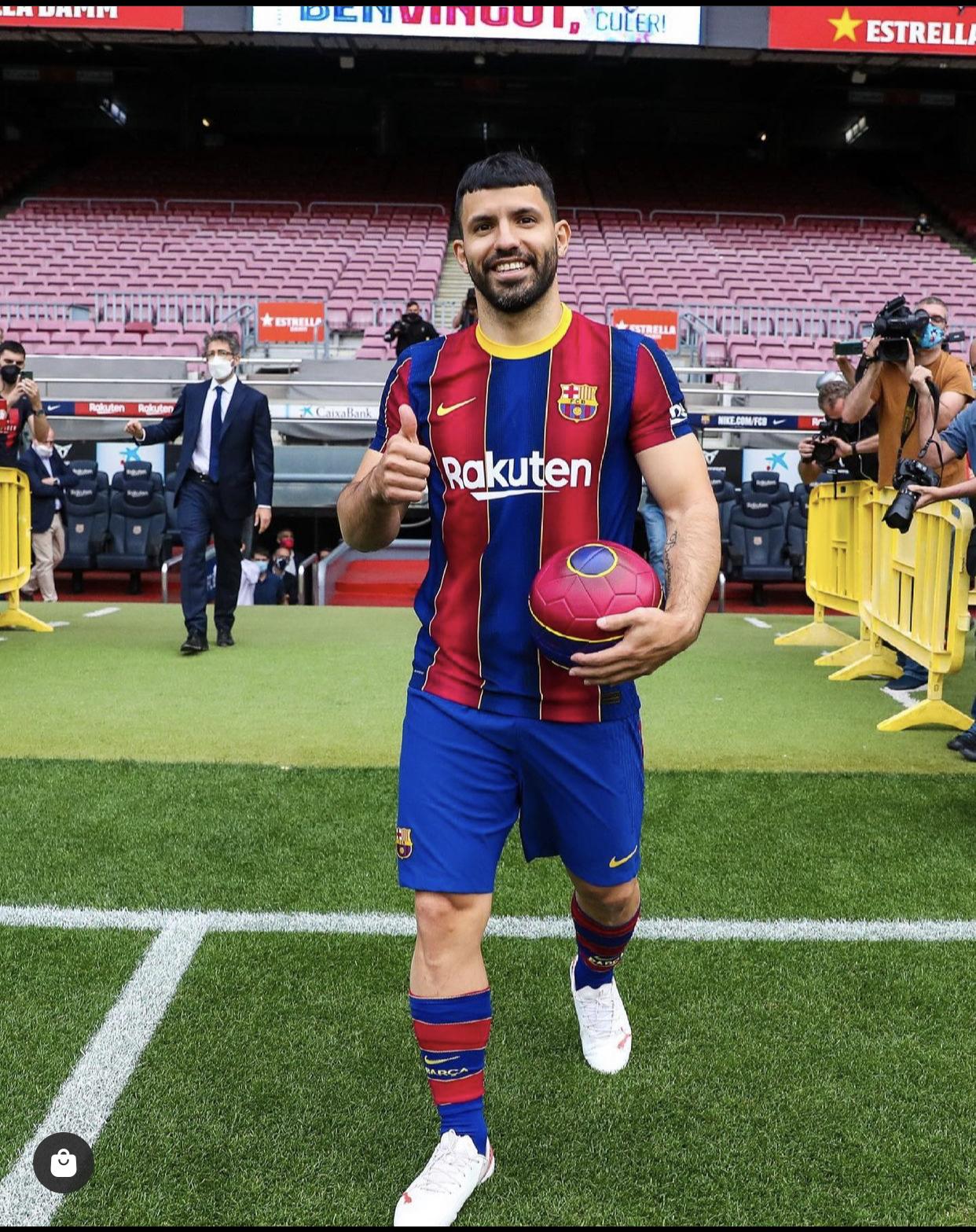 Mercato : Agüero signe au Barça (officiel)