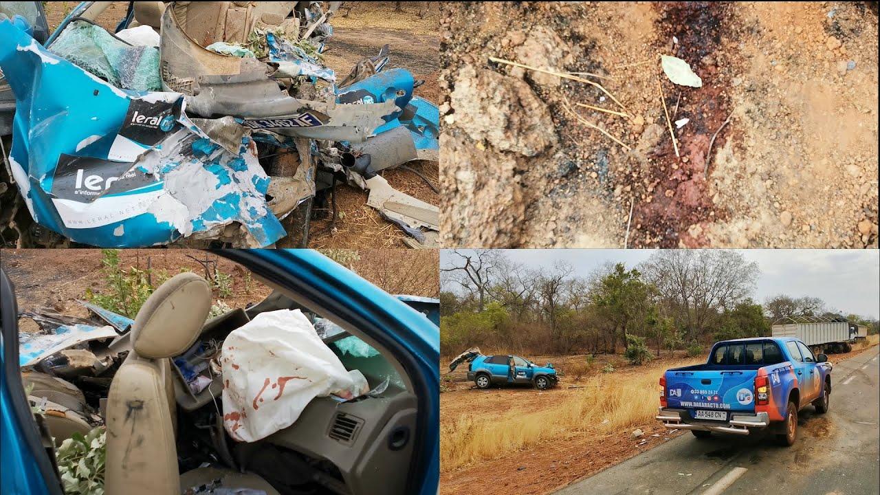 Collision entre un camion des Grands Moulins du Mali et un véhicule de Leral.net : « la violence du choc m'a poussé à courir me soulager dans la brousse… » (Apprenti)