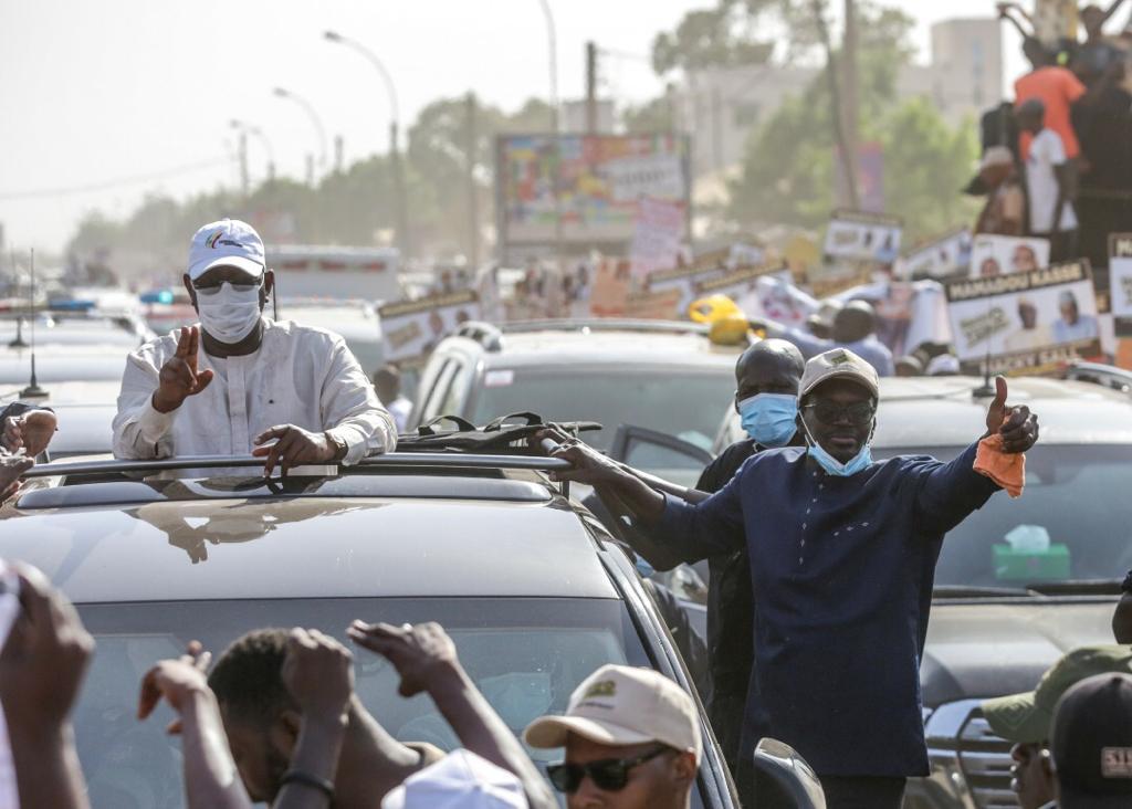 Tambacounda : Accueil du PR, le DG de la SICAP SA Mamadou KASSE mobilise dans son fief  ( IMAGES )