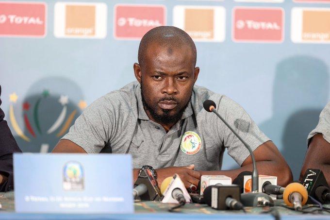 Équipe nationale : Youssouph Dabo aperçu aux abords de la zone technique d'Aliou Cissé...