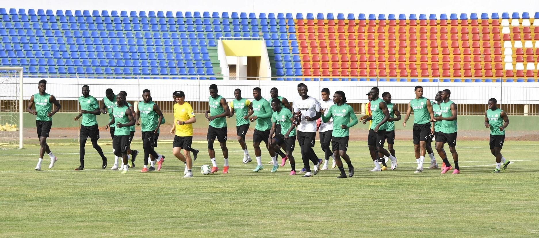 Équipe nationale : Après l'entraînement à huis clos du mercredi, les lions en mode récupération et renforcement musculaire...