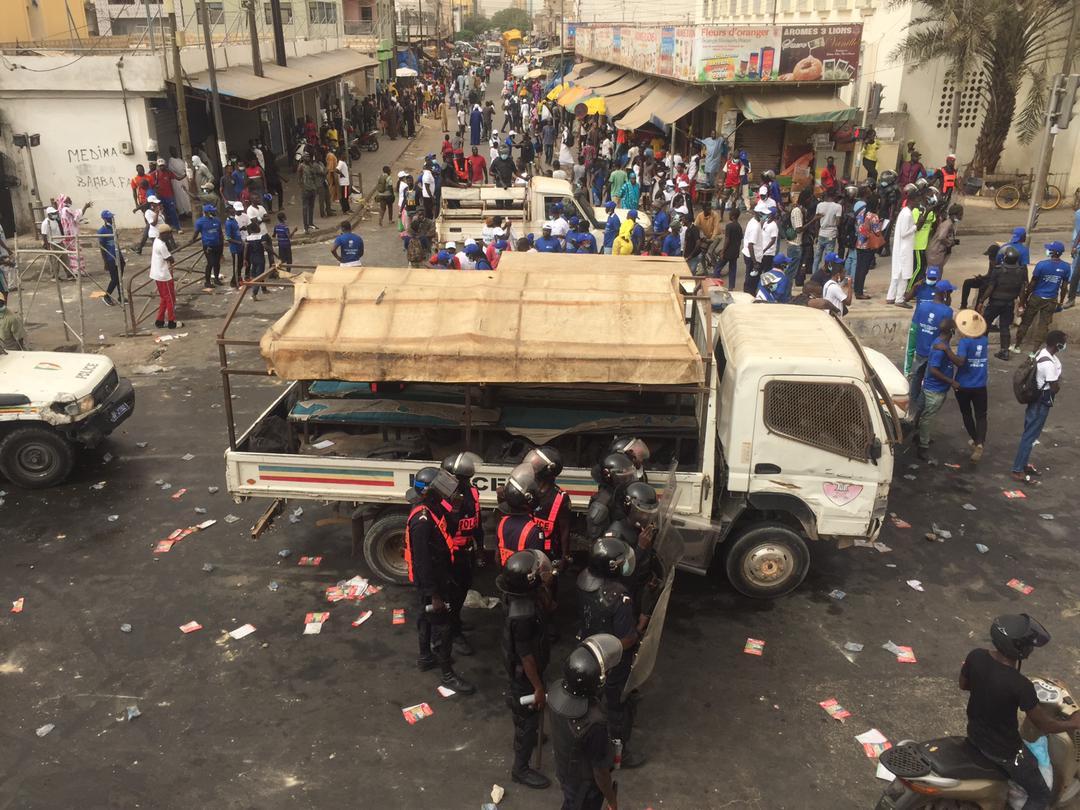 Médina : la marche des populations contre le bradage foncier vire à la bagarre