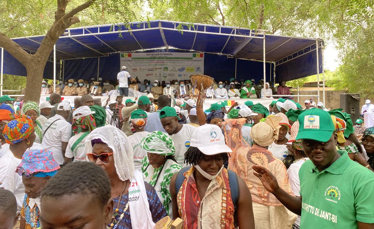 JME : Toubacouta en vert pour accueillir le ministre Abdou Karim Sall.
