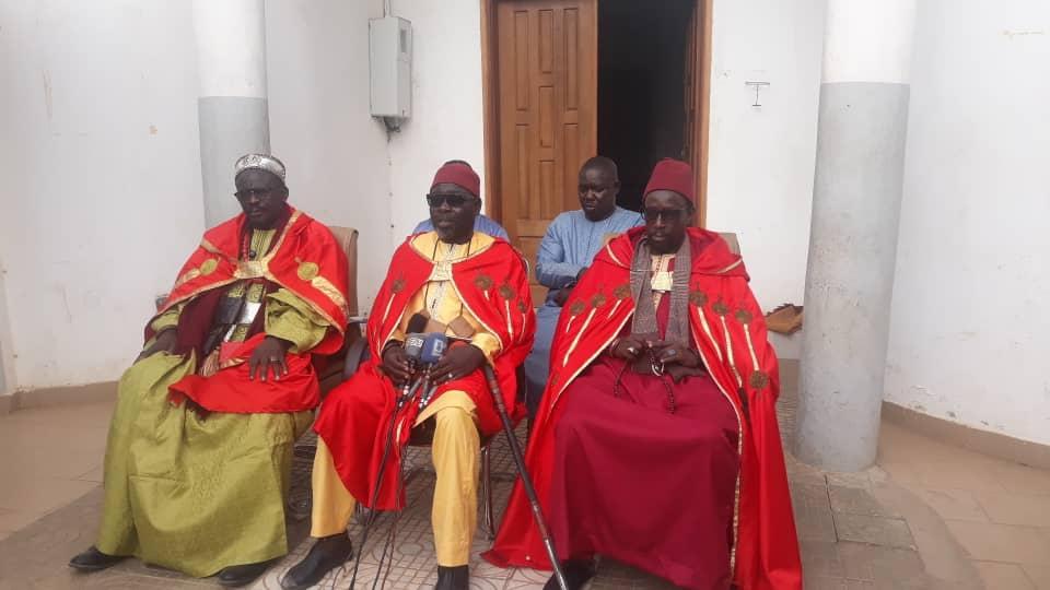 Sangalkam/Nouveau découpage administratif : Les dignitaires « Lébou » appellent à l'apaisement et bénissent et le projet.
