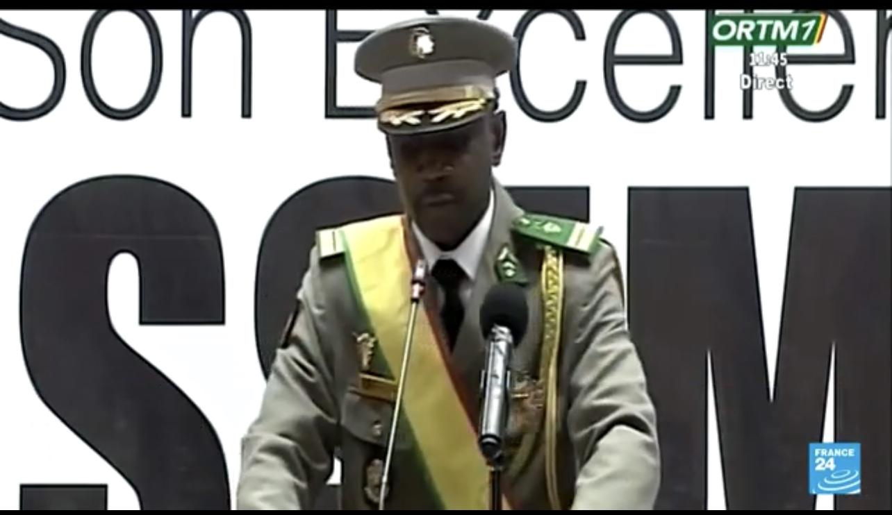 Mali : le Colonel Assimi Goïta promet d'organiser les élections aux « échéances prévues »