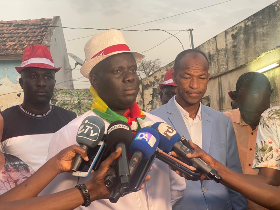 Malick Gakou à Kaolack : «Je dénonce avec force la répression de la manifestation des travailleurs de la Senelec»
