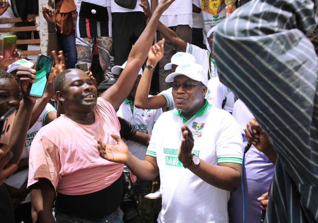 LOCALES À DIOURBEL / Pape Modou Fall et Dëgg Moo Woor investissent le Ministre Dame Diop pour la mairie et invitent Bby et la mouvance à taire les quenelles.