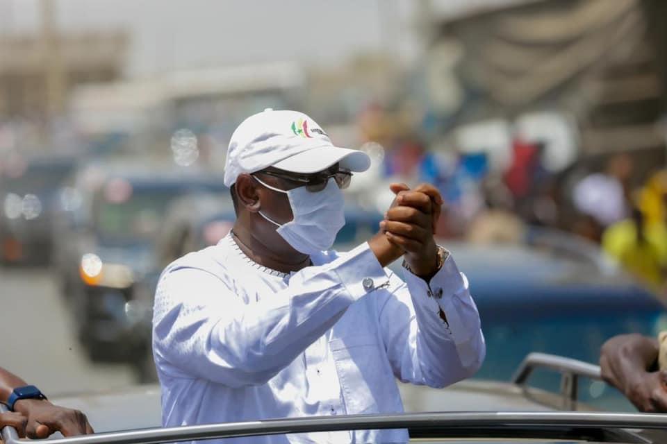 Tournée économique : Le président Macky Sall est arrivé à Saint-Louis (images)