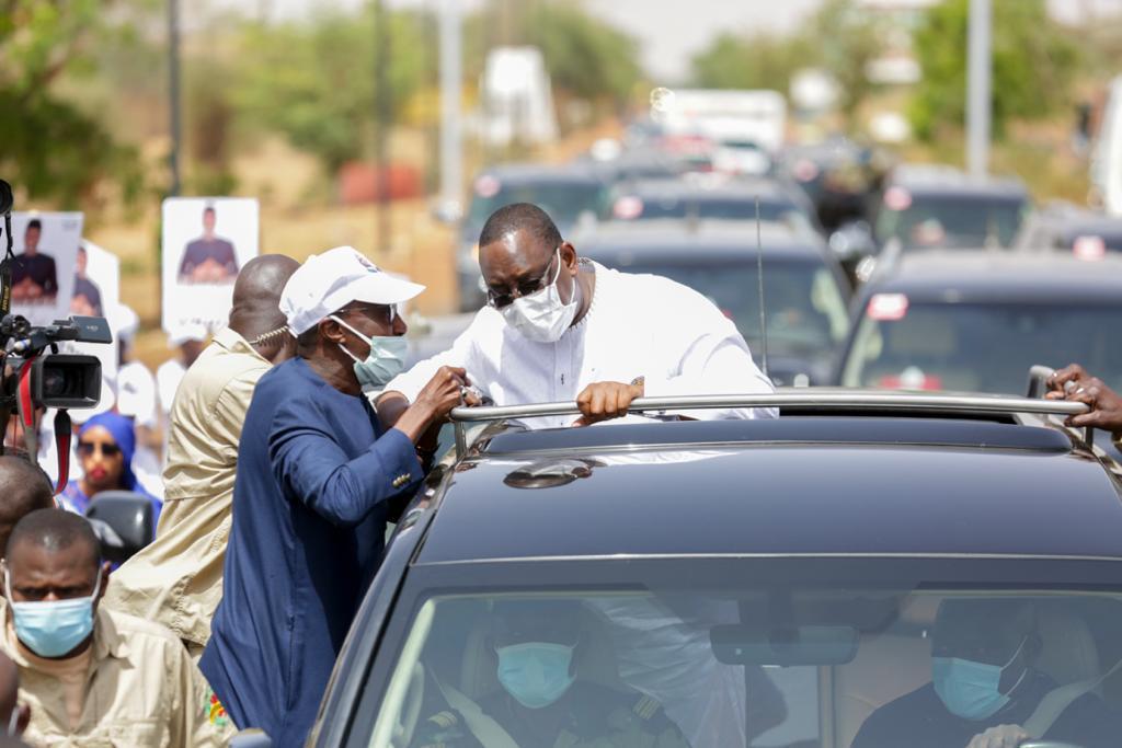 PASSAGE DU PRÉSIDENT MACKY SALL À LOUGA : Mamour Diallo remporte la bataille de la mobilisation et prend date pour les locales