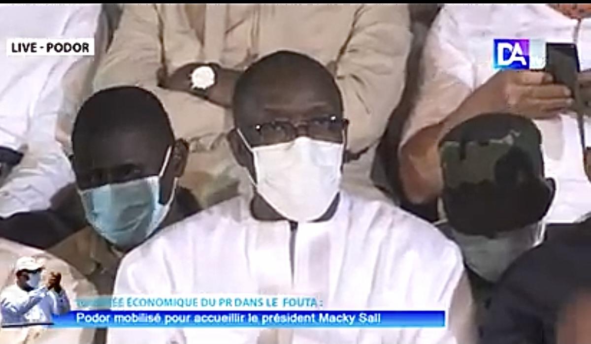 Visite du PR à Podor / Cheikh Oumar Anne ravi : « En tant que responsables politiques, nous devons beaucoup au président Macky Sall... »