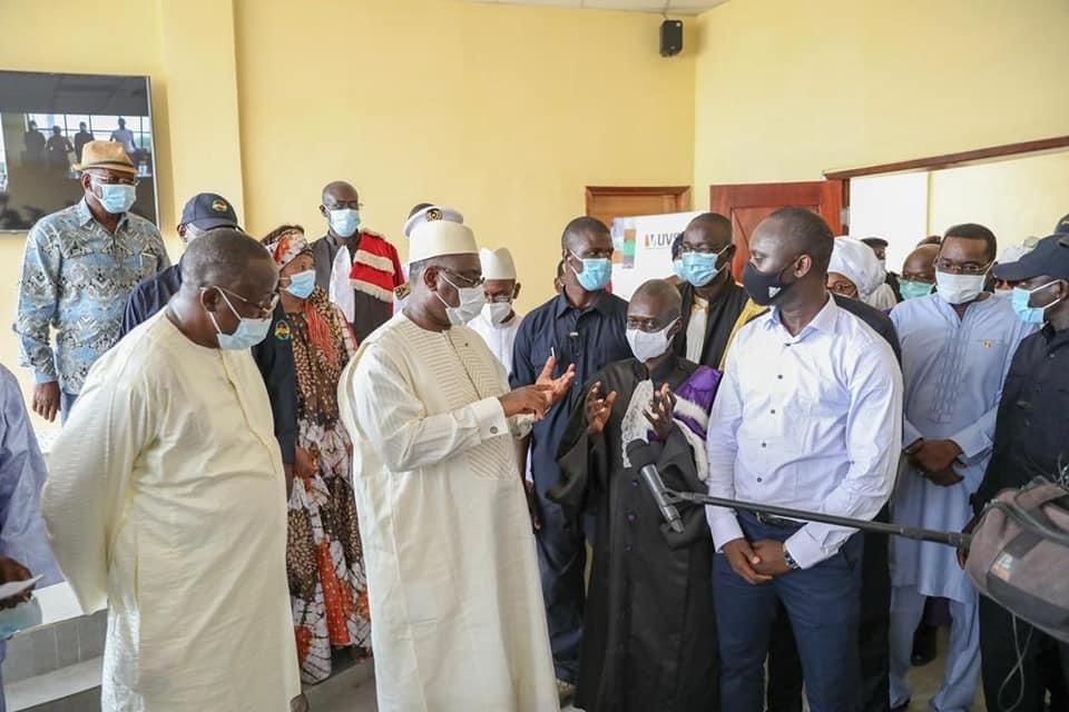 2ème Journée tournée économique : En compagnie de Cheikh Oumar Hanne, le Président Macky Sall inaugure l'ENO de Podor.