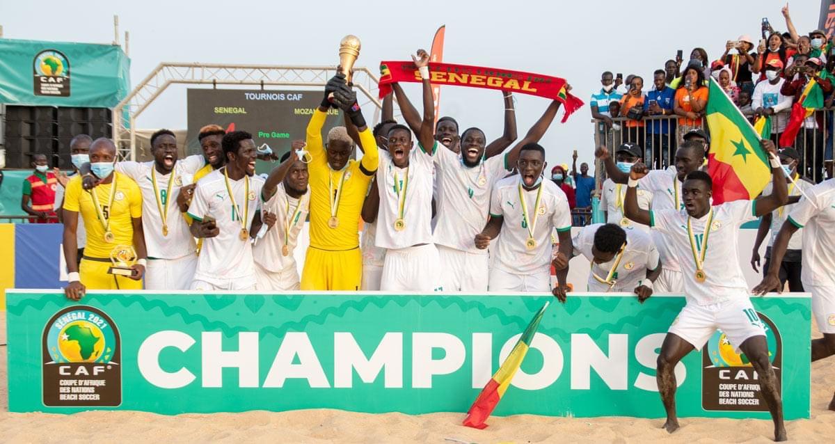 Tournoi Émirats Arabes Unis : Les Lions du Beach Soccer de nouveau en préparation après leur sacre à la CAN.