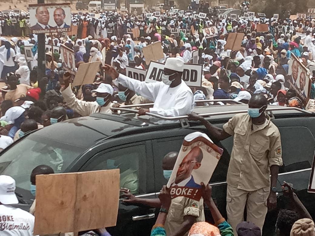 Boki Dialloubé : L'impressionnante mobilisation des militants d'Abdoulaye Daouda Diallo. (Images)