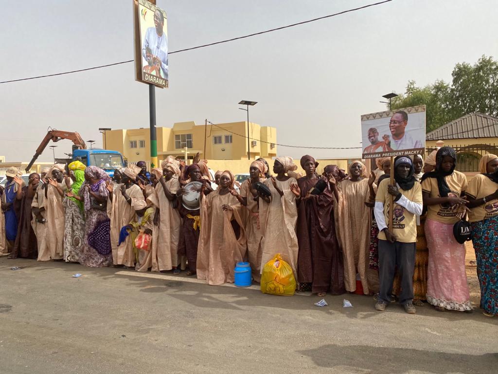 Mobilisation à Agnam pour accueillir le président de la République : pari réussi pour Farba Ngom.
