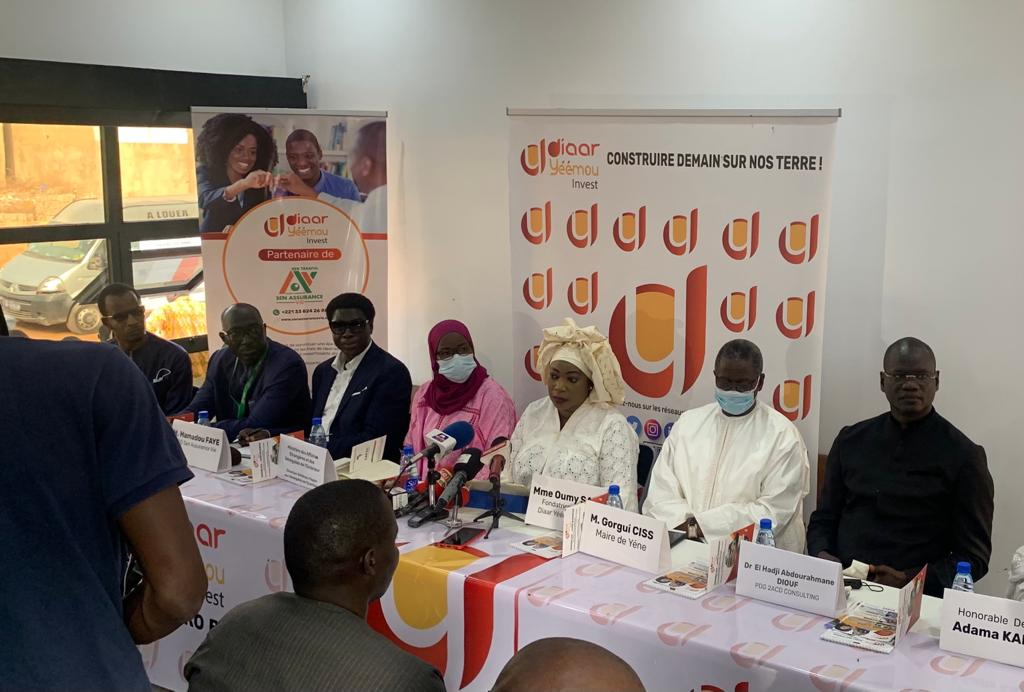 """Économie : Inauguration de """"Diaar Yémou Invest"""", une agence d'investissement à la disposition de la diaspora sénégalaise et africaine spécialisée dans l'immobilier et l'agrobusiness."""