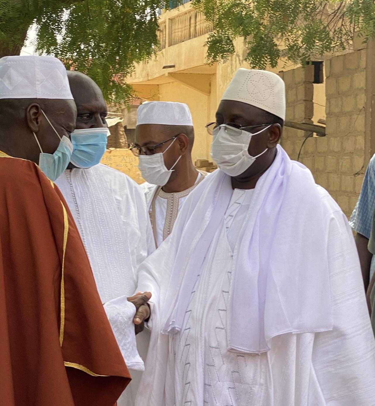 Le président Macky Sall a prié à la Grande mosquée de Matam…