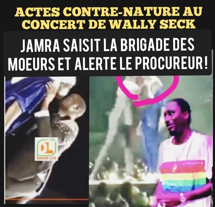 « Foonënté » entre hommes lors du concert de Waly : malgré les menaces, Jamra annonce une plainte à la brigade des mœurs et auprès du Procureur