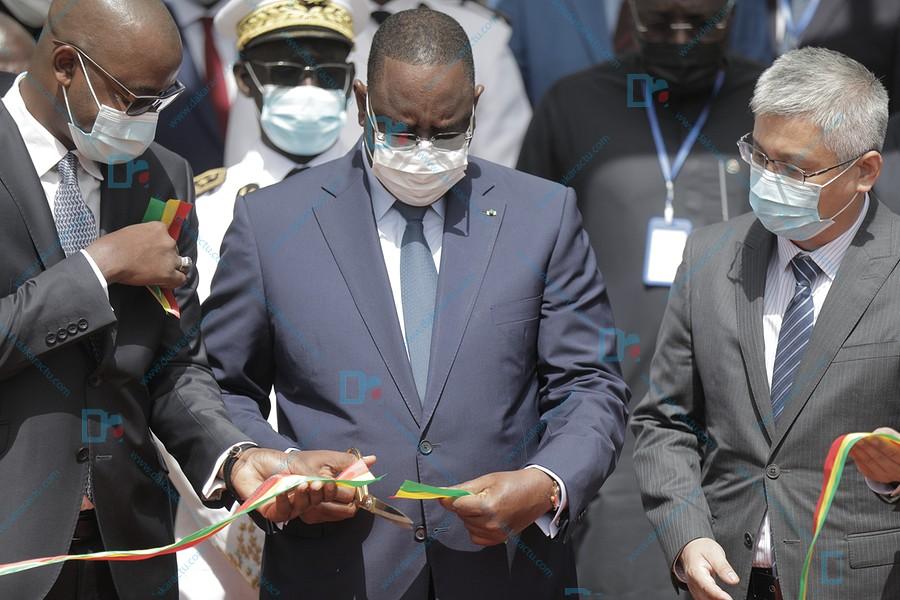 Les images de l'Inauguration du Data Center national par le president Macky Sall