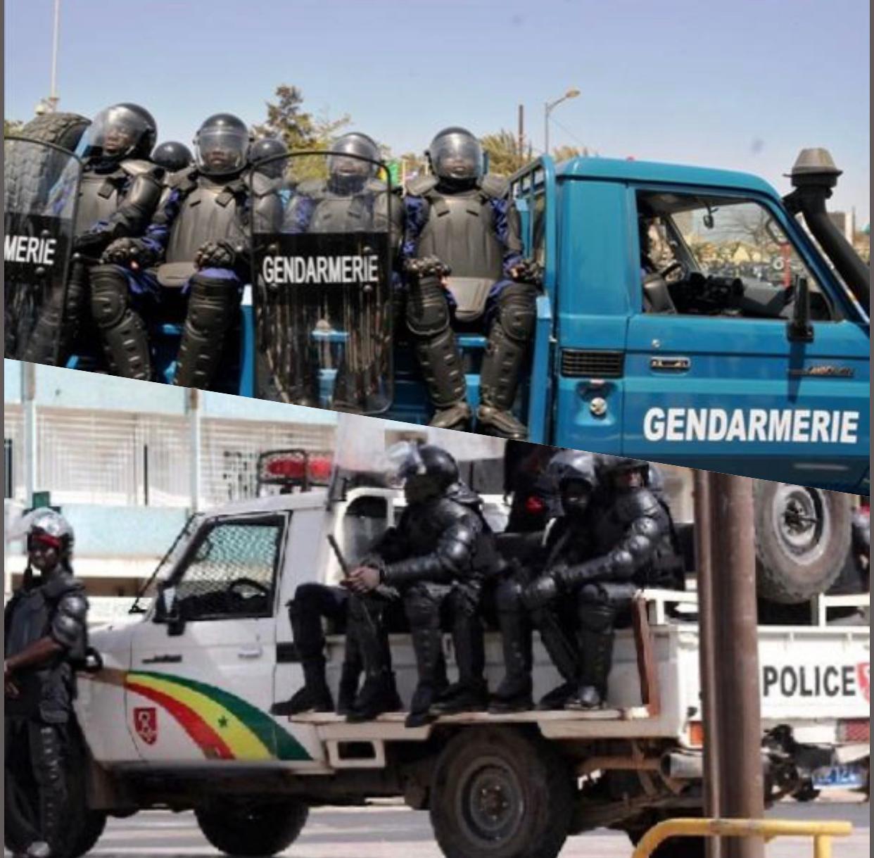 Manifestation du M2D : Des forces de l'ordre positionnées aux Hlm-Grand Yoff, Liberté 6, Sipres et alentours…