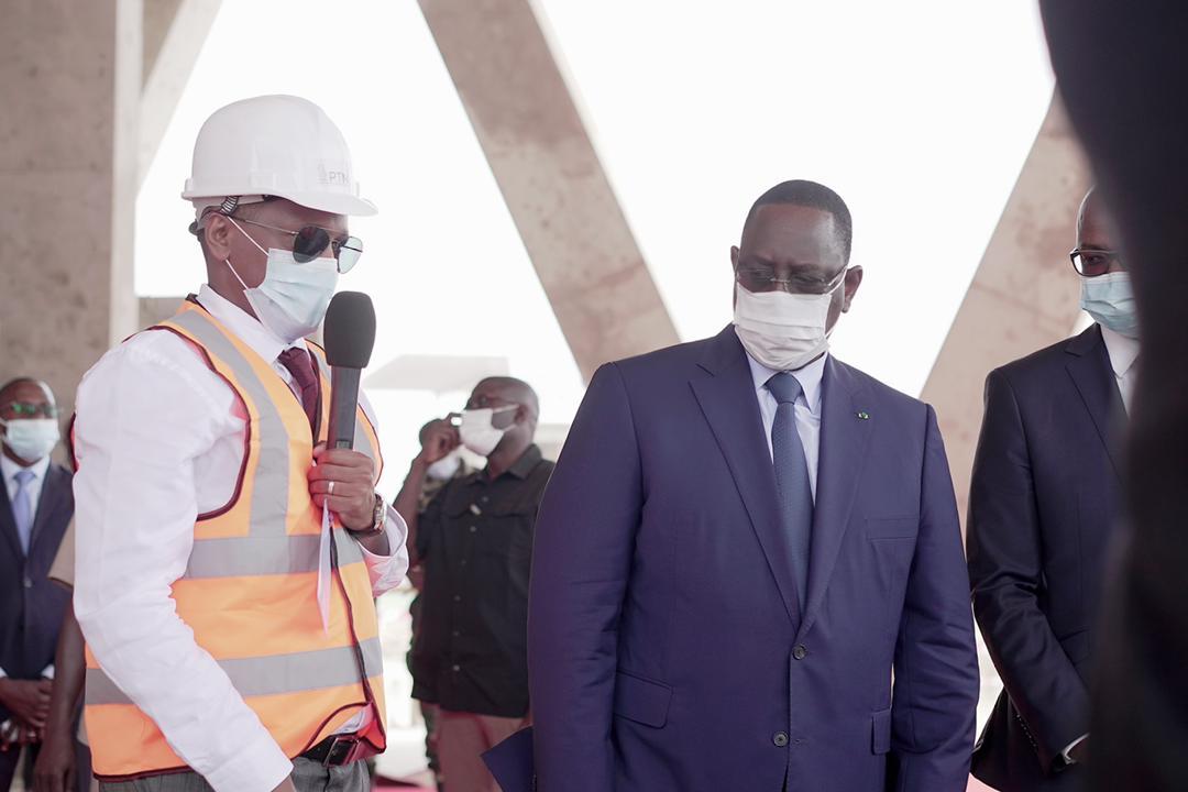 Diamniadio / Chantier du PTN : Un colosse bâti sur 25 ha pour plus de 100.000 emplois attendus.