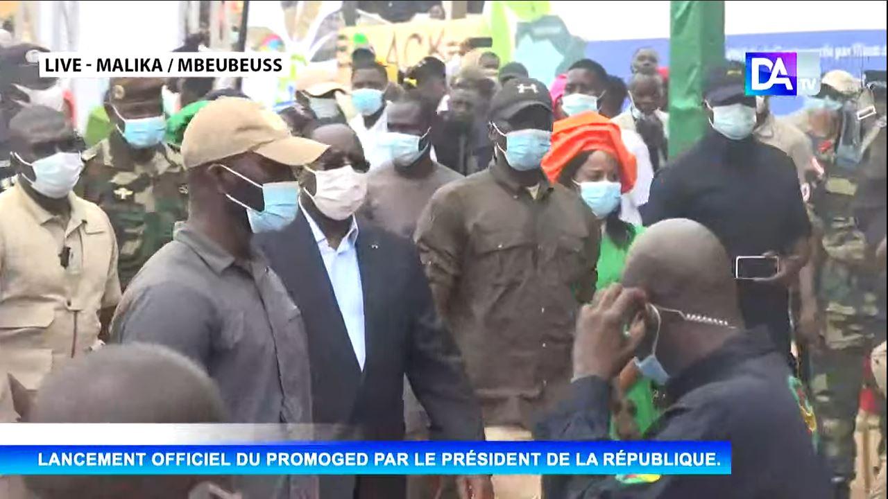 Malika / Mbeubeuss: le président Macky Sall procède au lancement du PROMOGED pour une meilleure gouvernance dans la gestion des déchets.