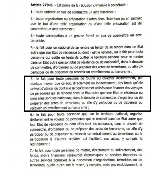 Modification de la loi portant code pénal du Sénégal : textuellement, quels sont les changements proposés par le gouvernement ?