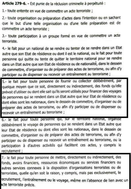 Sénégal : que dit la nouvelle loi sur le financement du terrorisme et les activités connexes ?