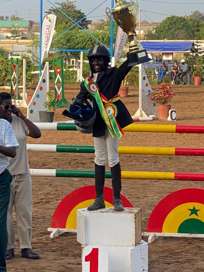 Équitation : À 13 ans, Betty Tabara Guèye devient Championne du Sénégal 2021