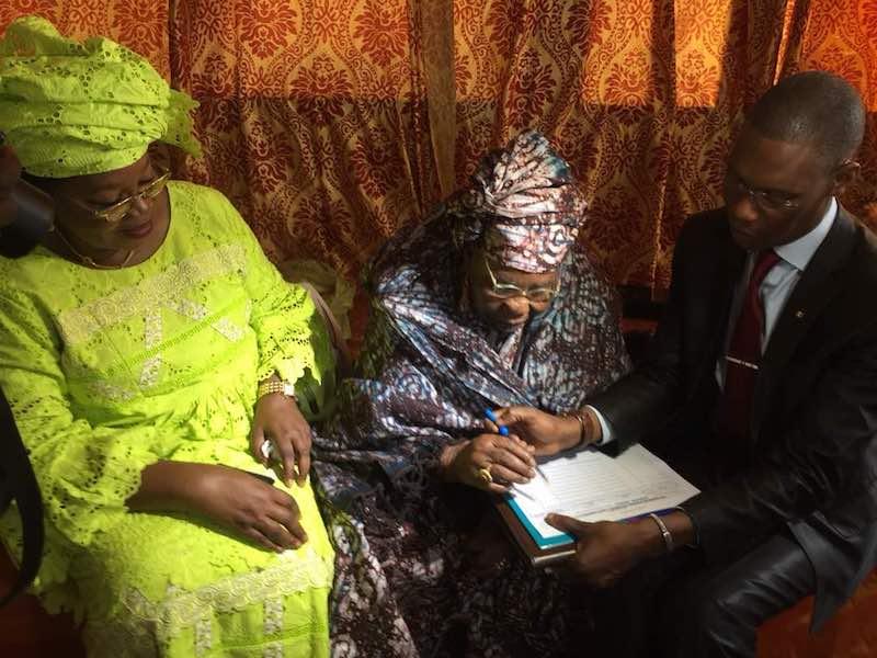 NÉCROLOGIE : La députée Aïda Mbodj a perdu sa mère Adja Aminata Sarr.