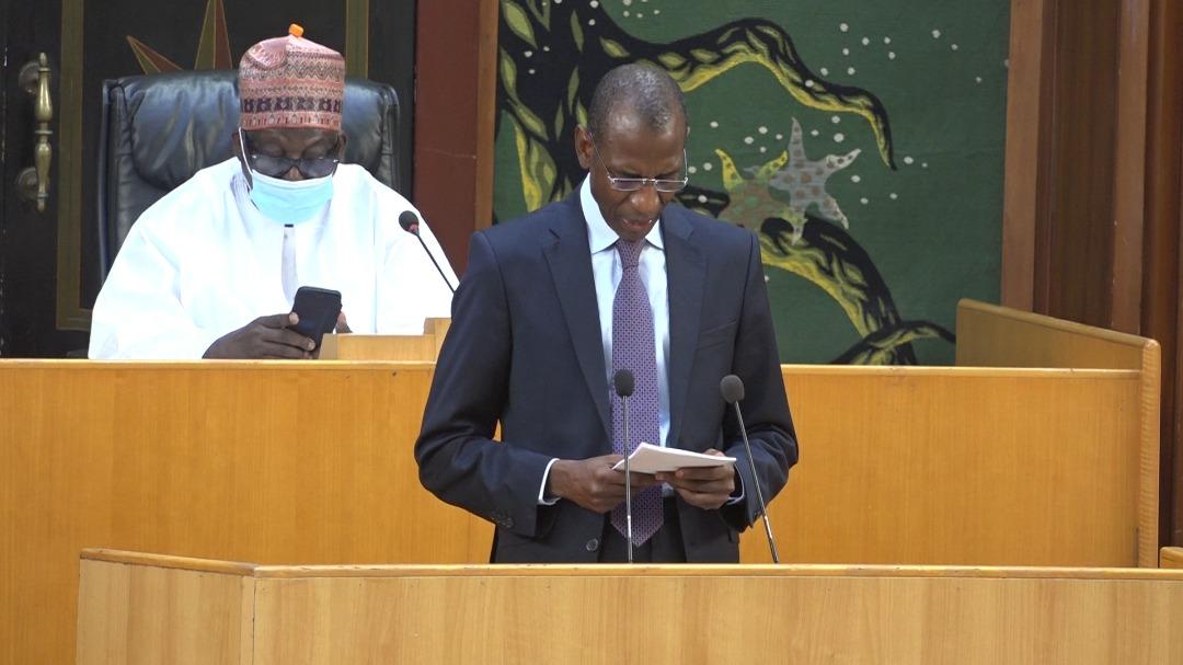 DEBAT D'ORIENTATION BUDGETAIRE DU 30 JUIN 2021 : l'intégralité du discours du ministre des finances et du budget, Abdoulaye Daouda Diallo,