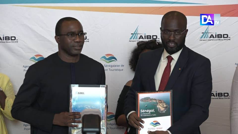 Économie : Les trois axes de la convention Aibd Sa/Aspt signée au profit du Tourisme et des Transports aériens sénégalais