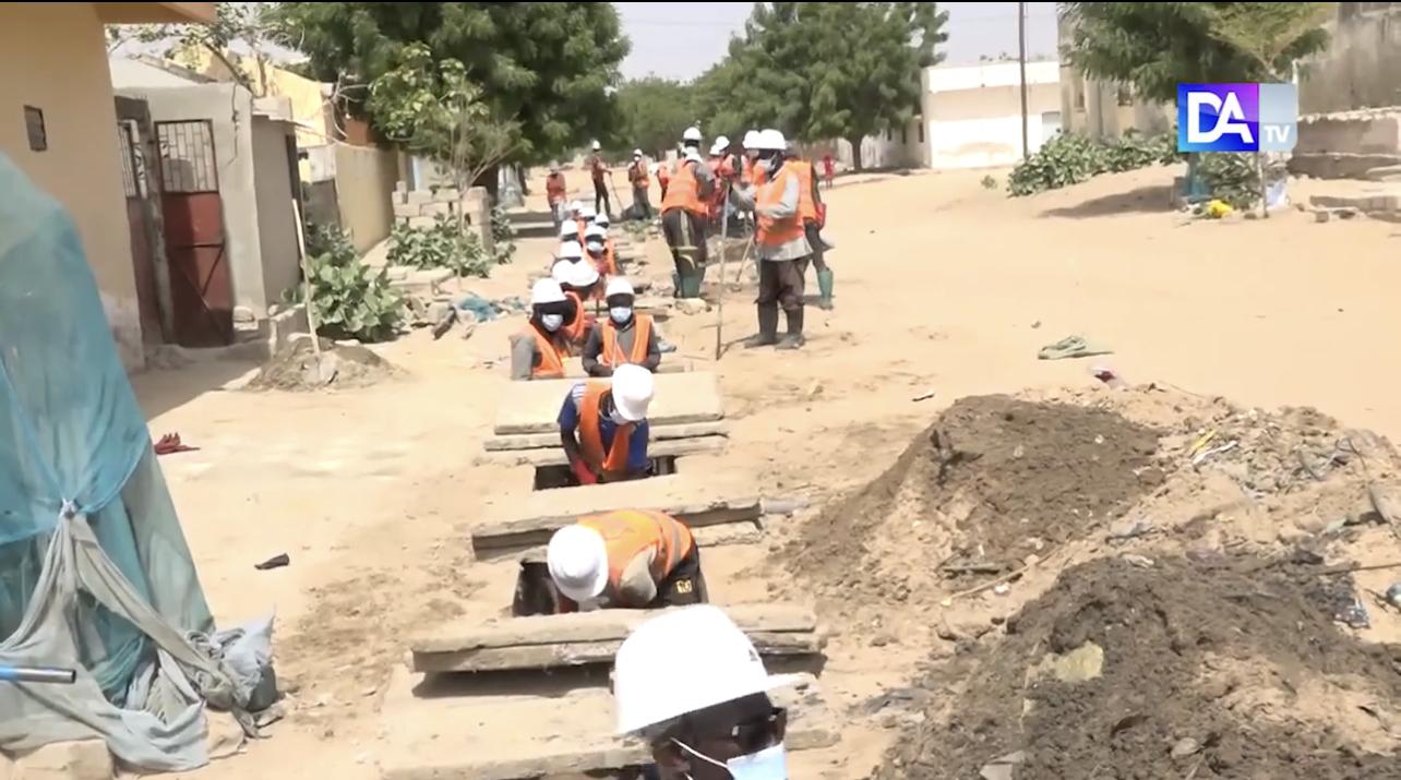 Bouchons sur le réseau d'assainissement : l'ONAS invite les populations à éviter d'y déposer des déchets solides