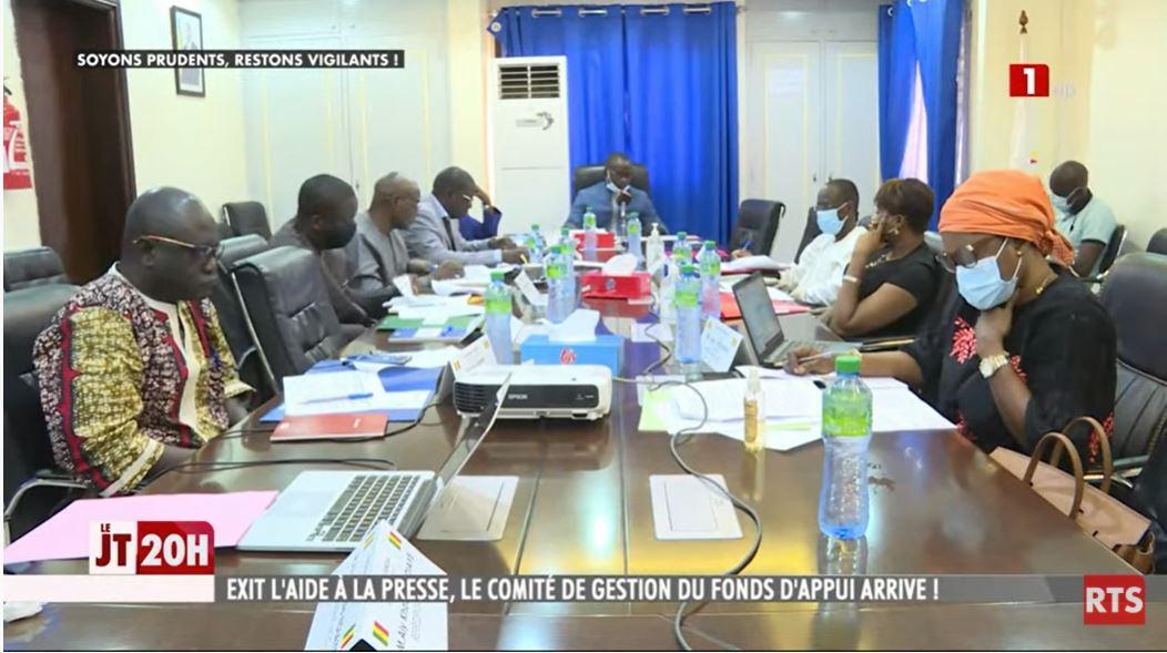 Fonds d'appui et de développement de la presse :  Le comité de gestion officiellement installé