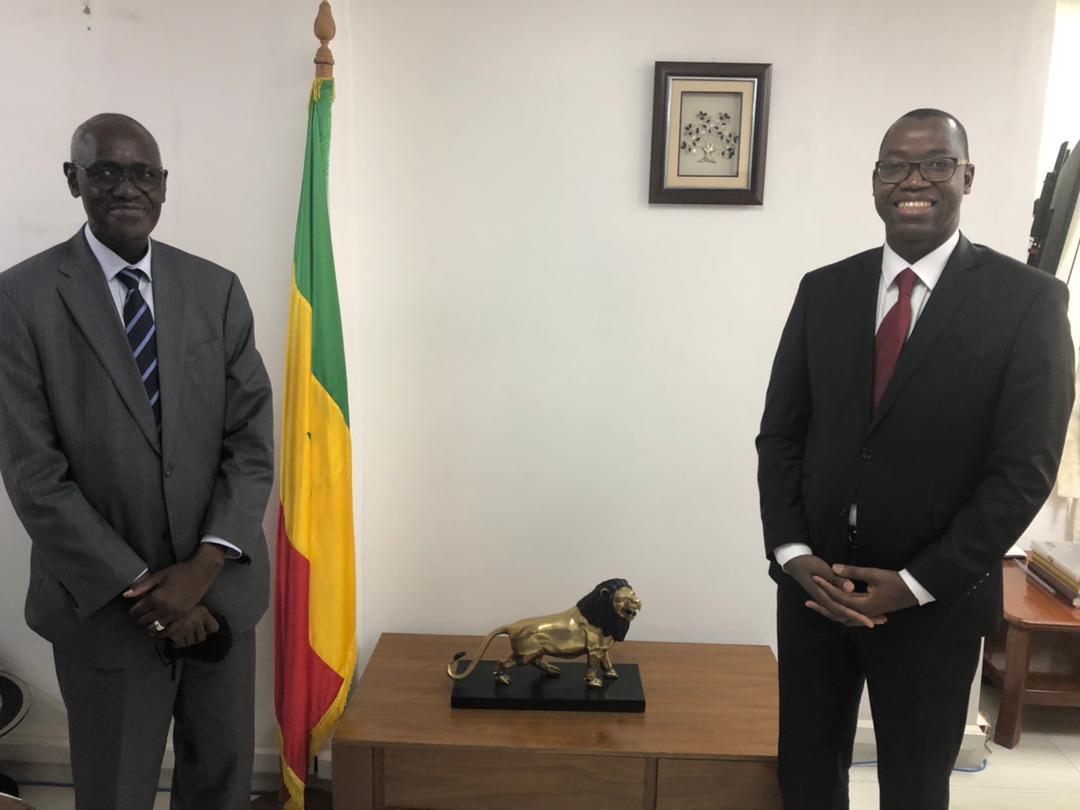 Forum Mondial de l'Eau : Le ministre de l'Économie numérique et des Télécommunications s'engage à ne ménager aucun effort