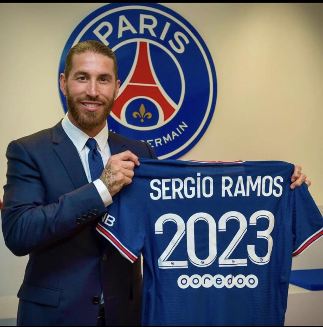 Mercato : Ramos, le nouveau coup d'éclat du PSG ! (officiel)